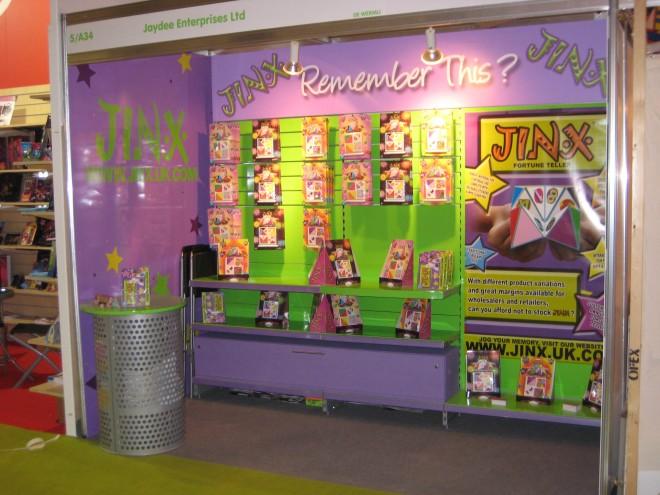 Jinx Exhibition Stand