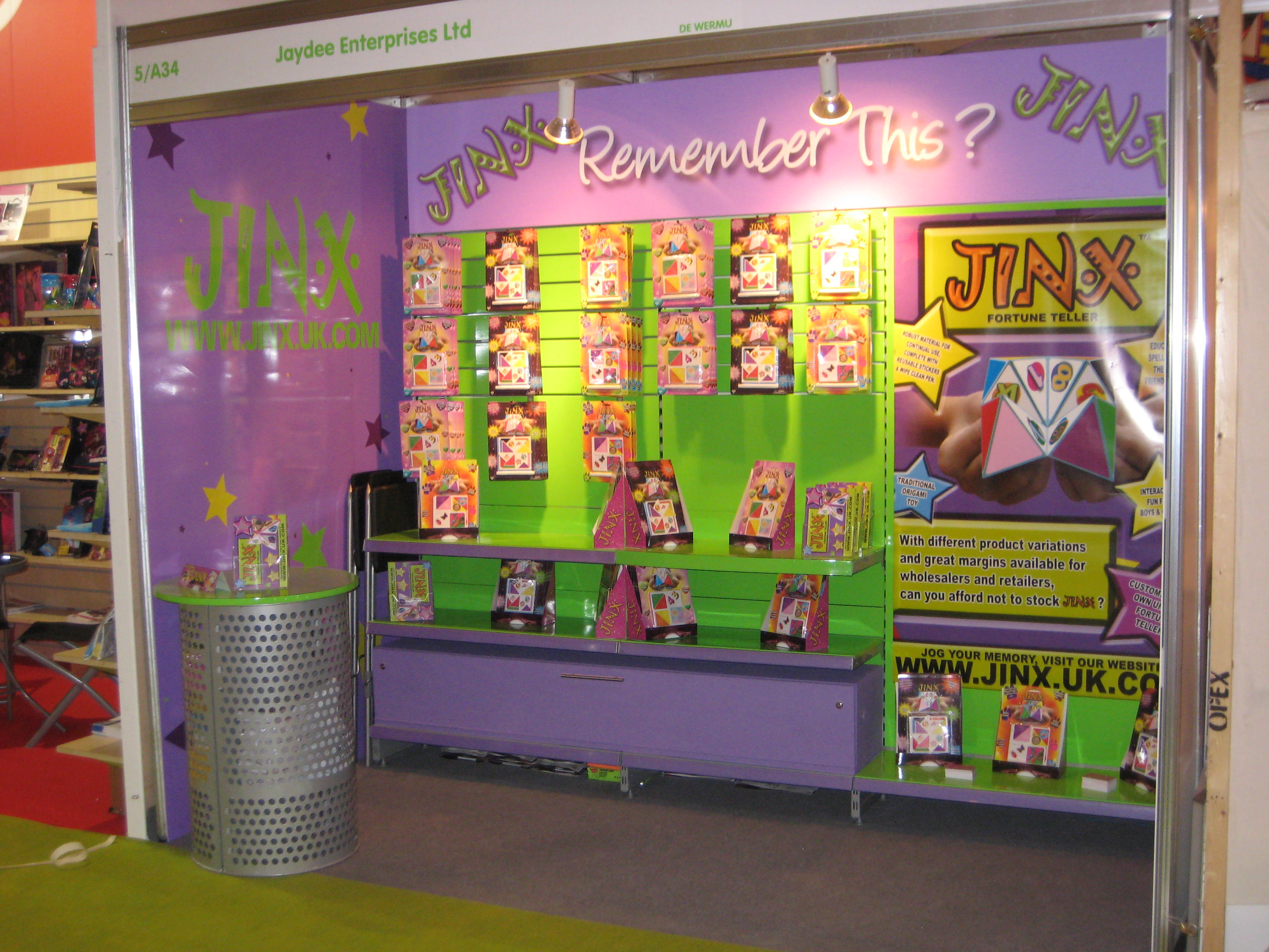 Marketing Exhibition Stand List : Jinx mx signs and designs