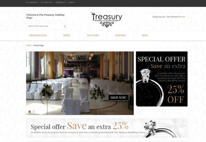 Treasury Weddings