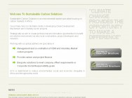 Sustainable Carbon Solutions