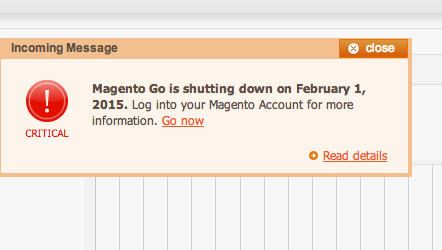Magento Go Shutting Down, Migrate Magento With Us Now!